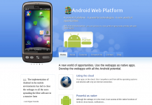 Android Web Platform in Android Market
