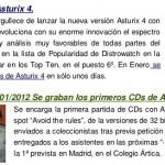 Memoria de Asturix